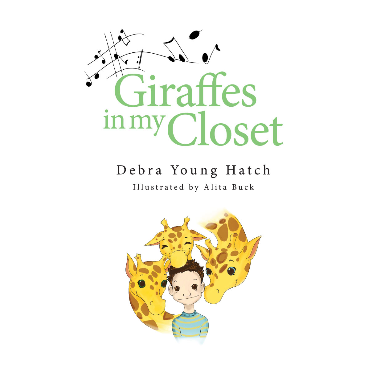 Giraffes in my Closet inside cover