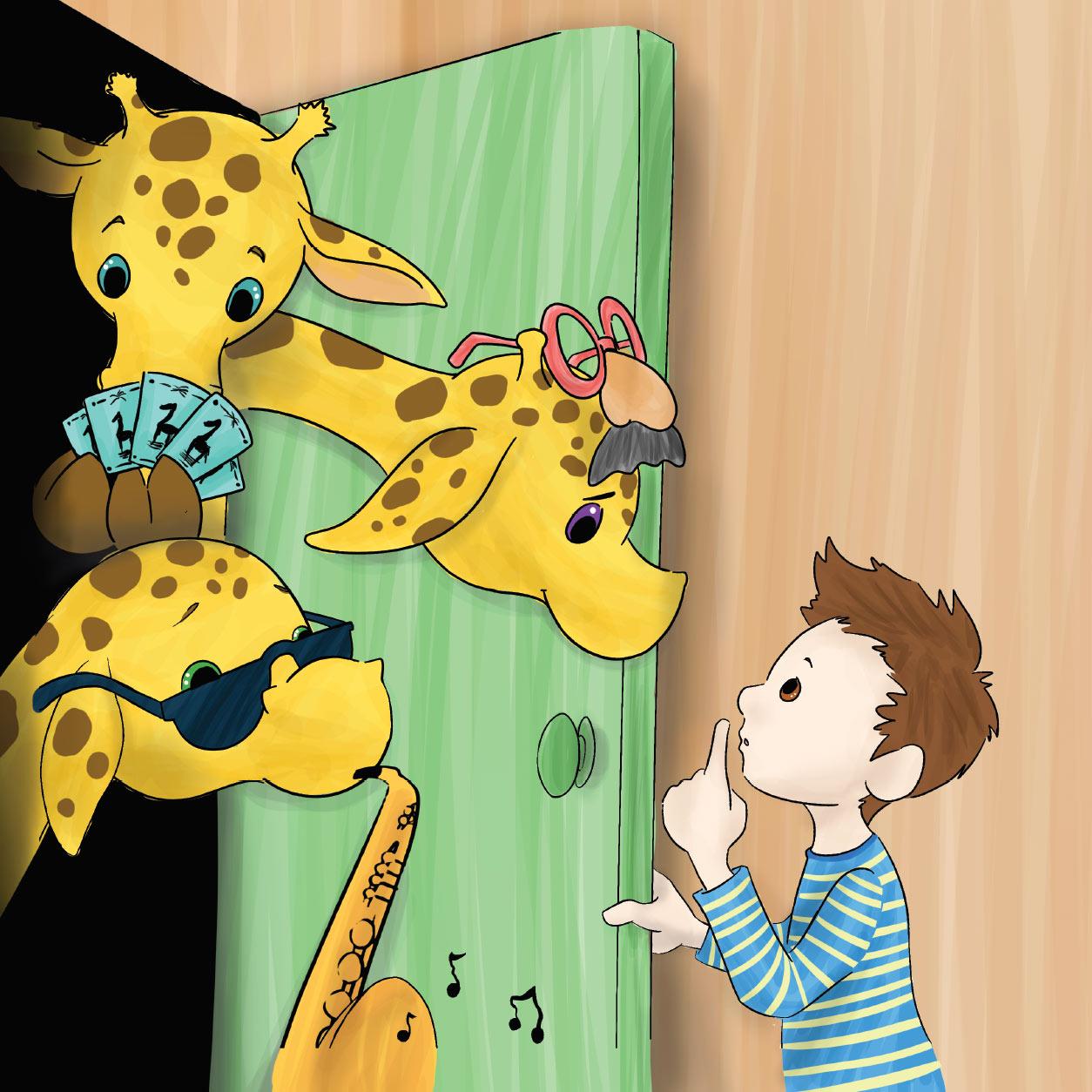 Giraffes in my Closet Page